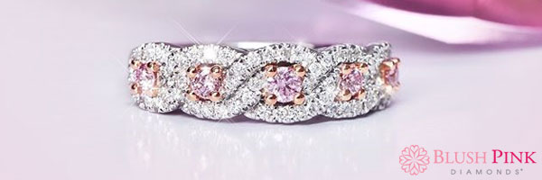 Blush Pink Diamonds
